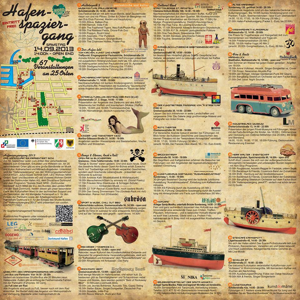 Hafenspaziergang - Kaffeklatsch und Krimskrams
