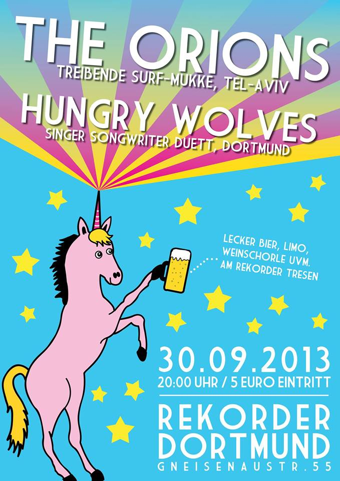 Konzert: The Orions & Hungry Wolves