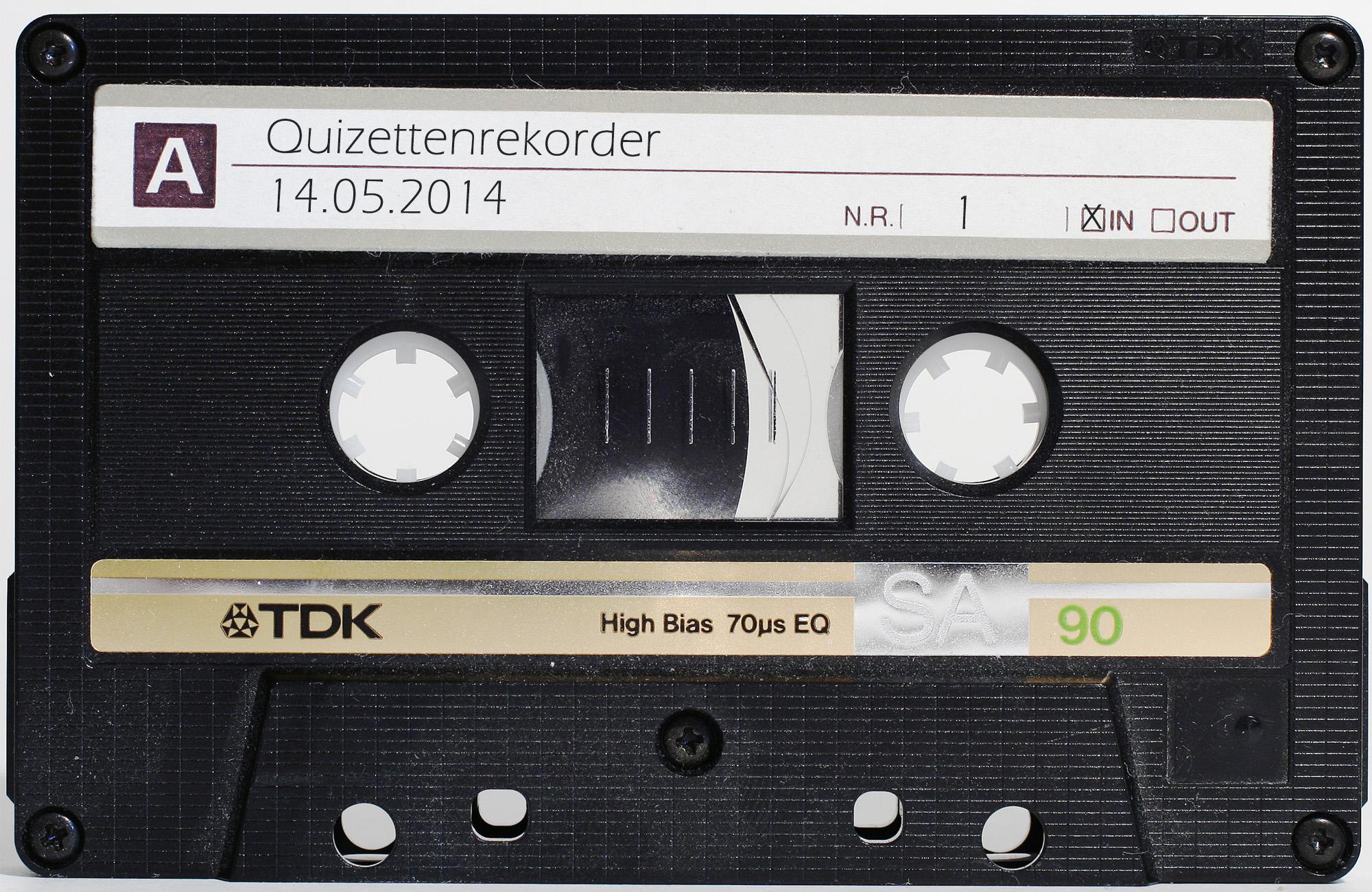 Quizettenrekorder
