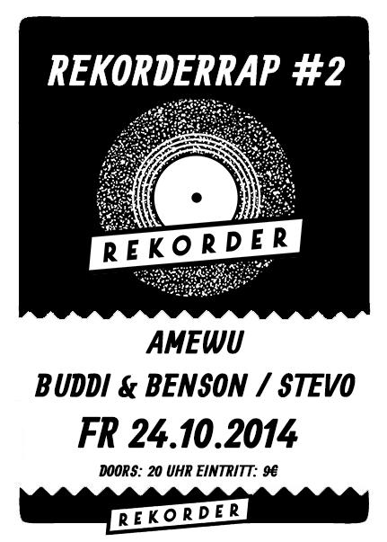 Rekorderrap #2: Amewu - Buddi & Benson - Stevo