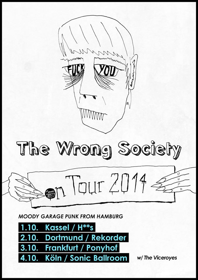 Konzert: The Wrong Society I Ringelbeats Spezial mit Micha der Koch + Bobby & Pille