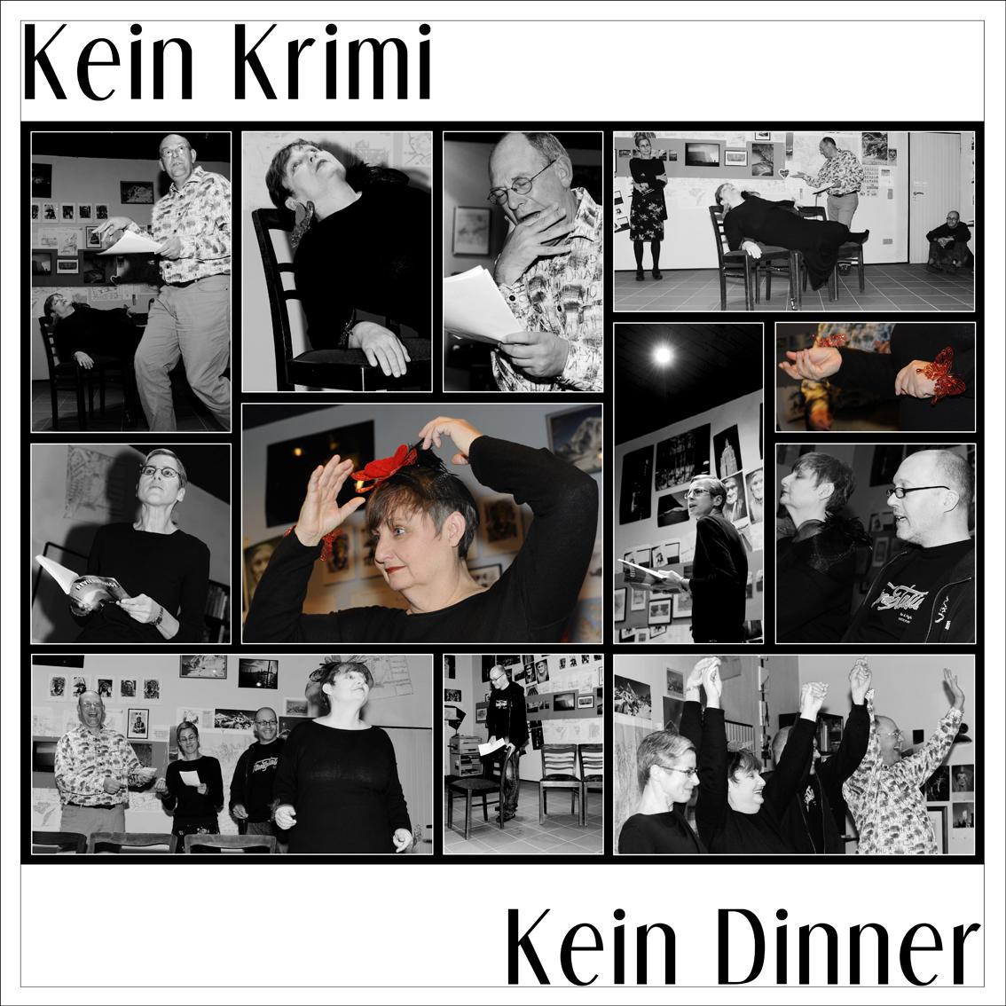 KEIN KRIMI, KEIN DINNER (LITERATURIMPROVISATION)