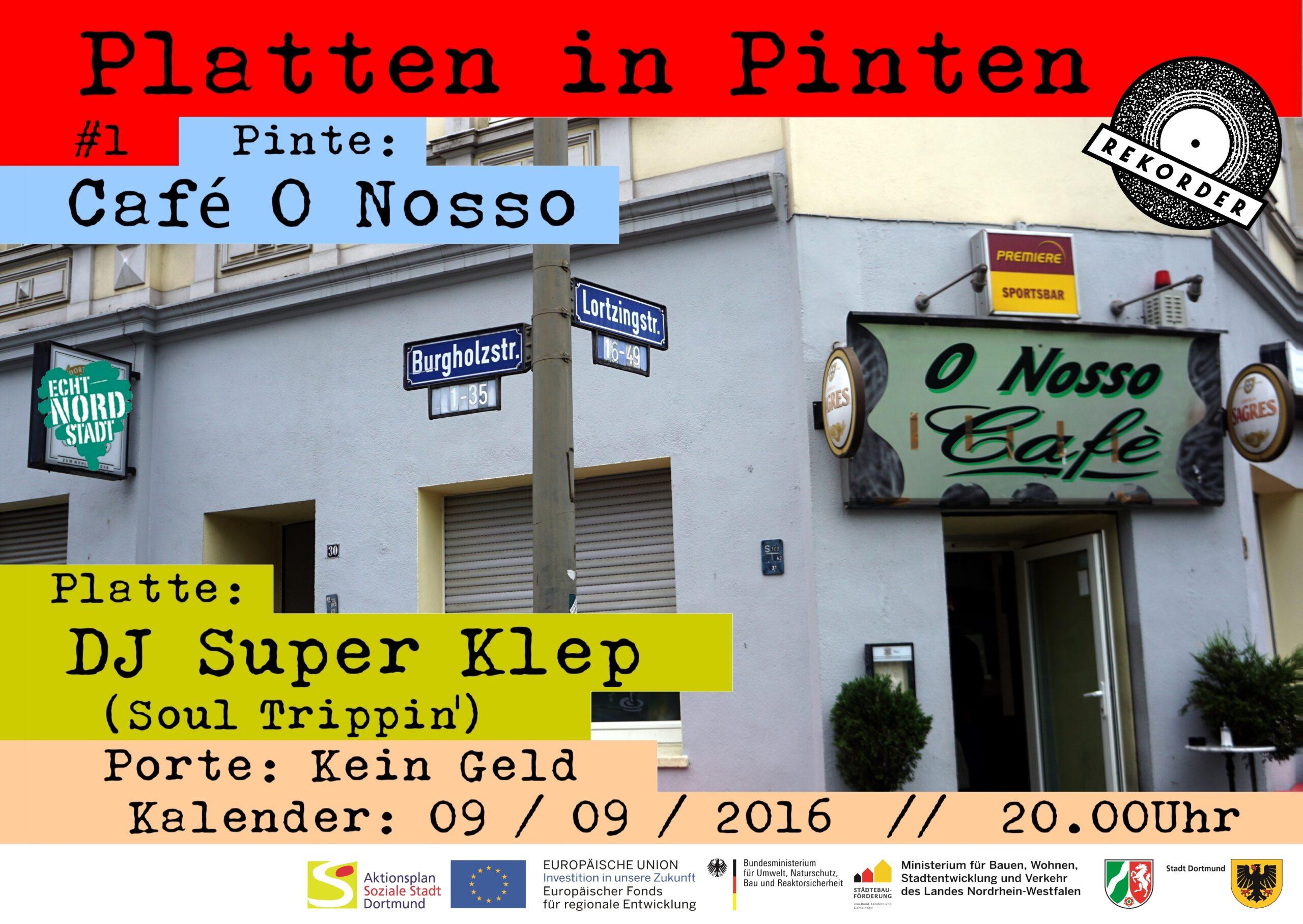 Platten in Pinten #1 – Cafe O Nosso