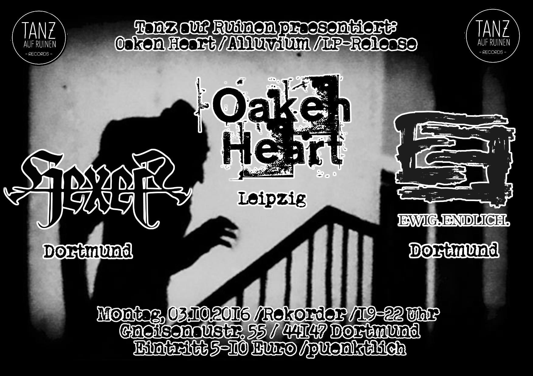 Konzert: Oaken Heart / Hexer / Ewig.Endlich