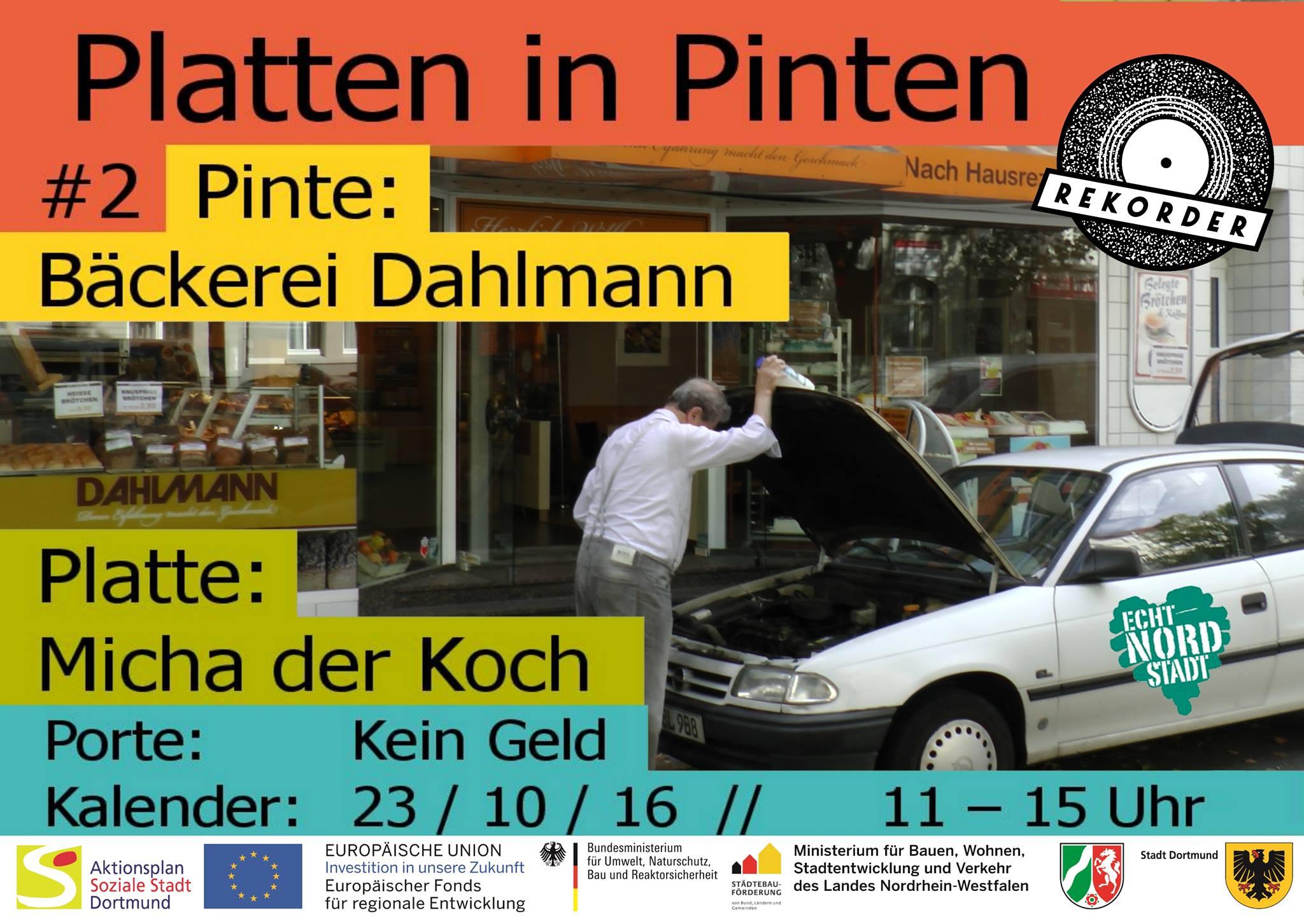 Platten in Pinten #2: Bäckerei Dahlmann