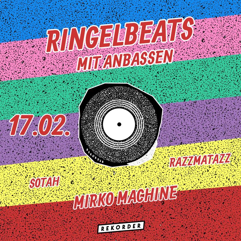 Ringelbeats mit Anbassen feat. Mirko Machine & Sotah & Razzle