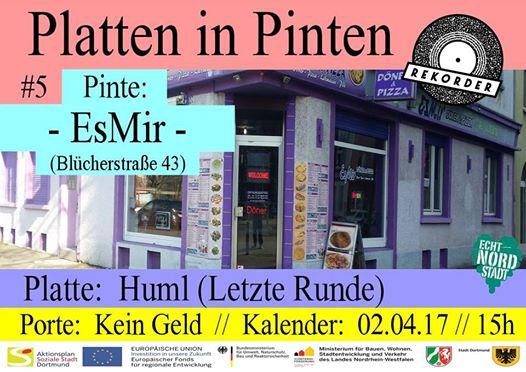 Platten in Pinten #5: EsMir Döner & Pizza // mit Huml