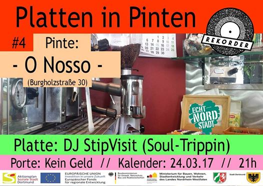 Platten in Pinten #4: Café O Nosso // mit DJ StipVisit