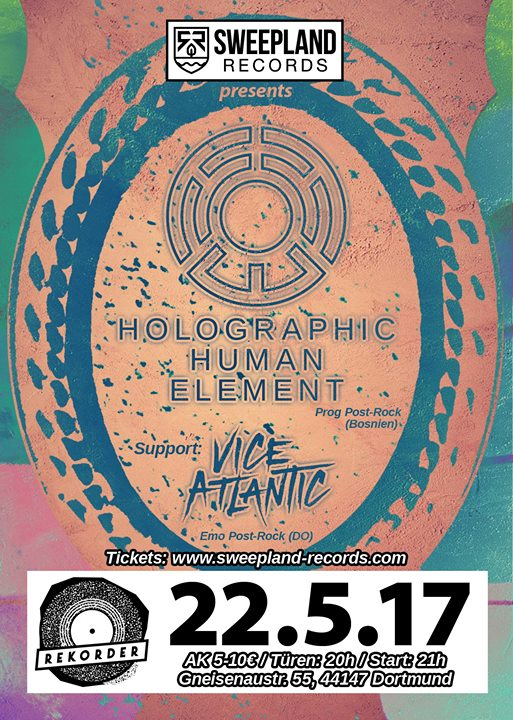 Konzert: Holographic Human Element + Vice Atlantic