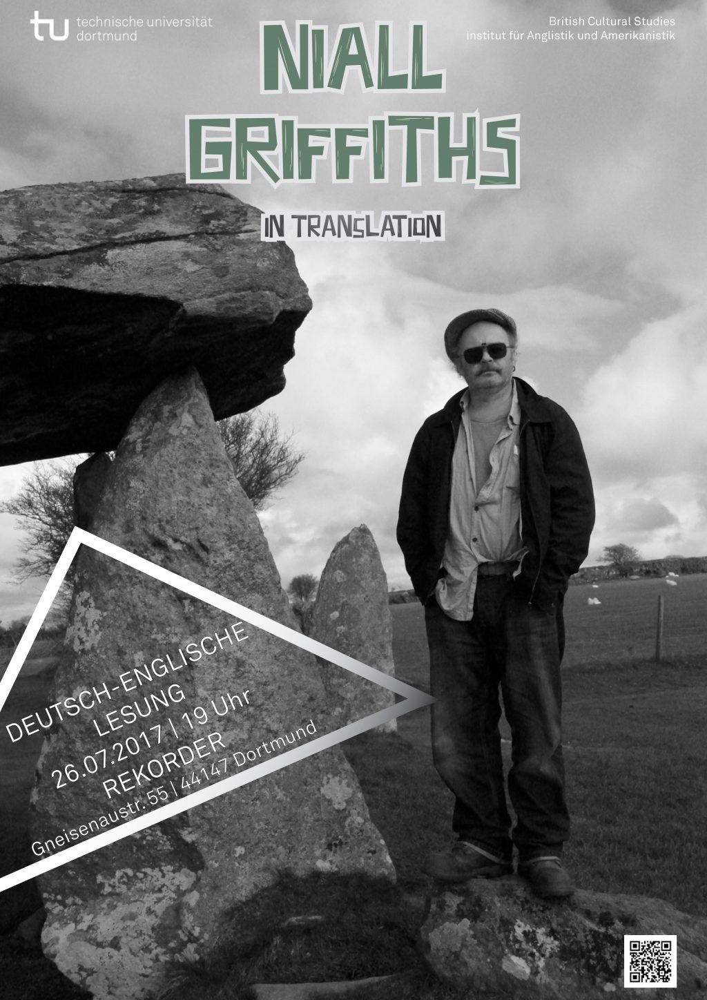Lesung: Niall Griffiths in Translation (Deutsch-Englisch)