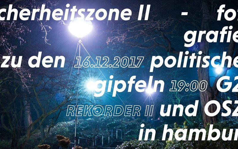 Ausstellungseröffnung: Fabian Ritter - Sicherheitszone 2
