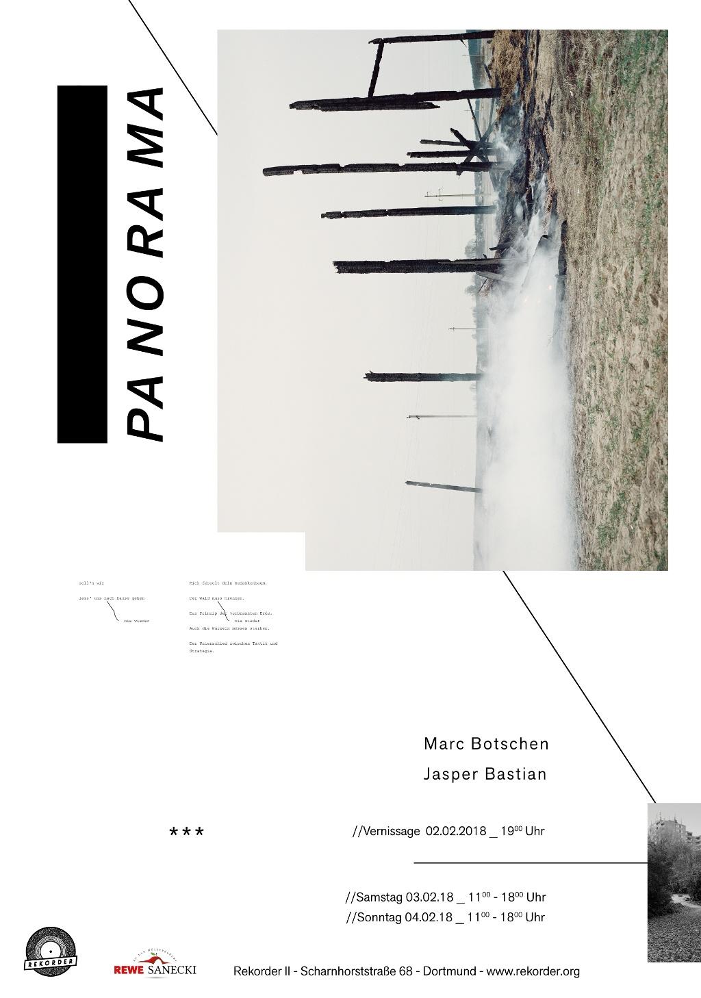 "Eröffnung ""Panorama"" − Marc Botschen × Jasper Bastian"