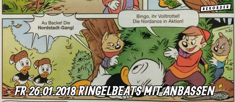Ringelbeats mit Anbassen
