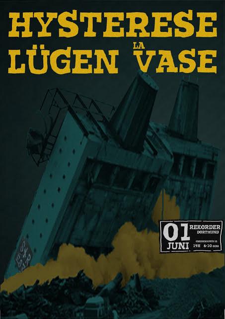 Stresz im Rekorder: Hysterese // Lügen // La Vase