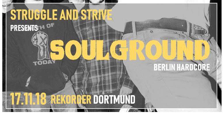 Struggle & Strive presents: Soulground + Molotok