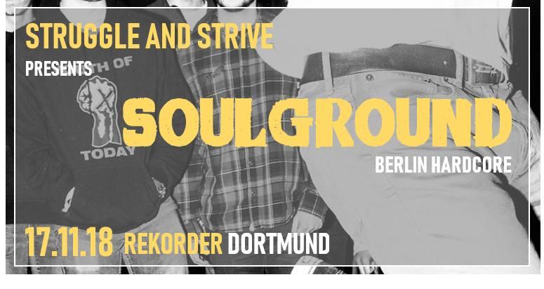 Struggle & Strive presents: Soulground + Molotok