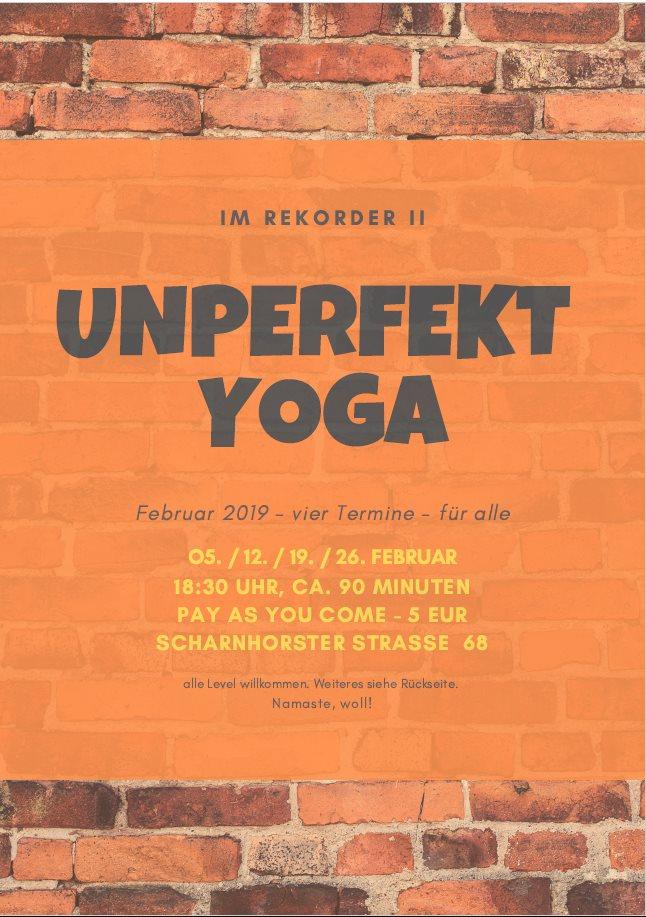 Unperfekt Yoga