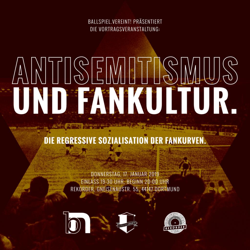 Vortrag: Antisemitismus und Fankultur