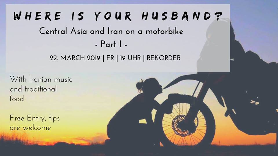 Where is your husband? - Motorbiketravel through Central Asia