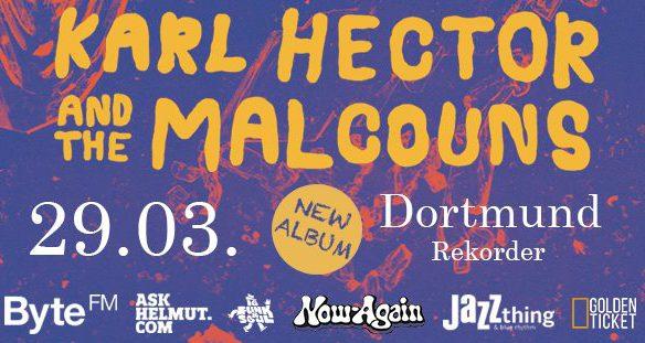 Konzert: Karl Hector & The Malcouns