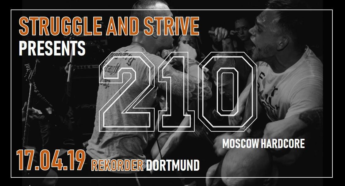 Struggle & Strive presents: 210 + Unfaded