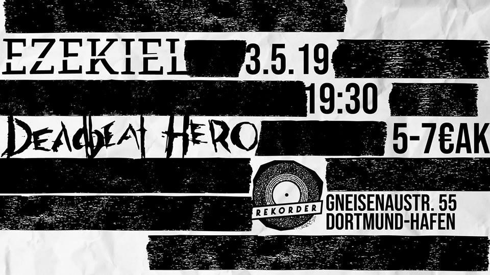 Konzert: Ezekiel & Deadbeat Hero