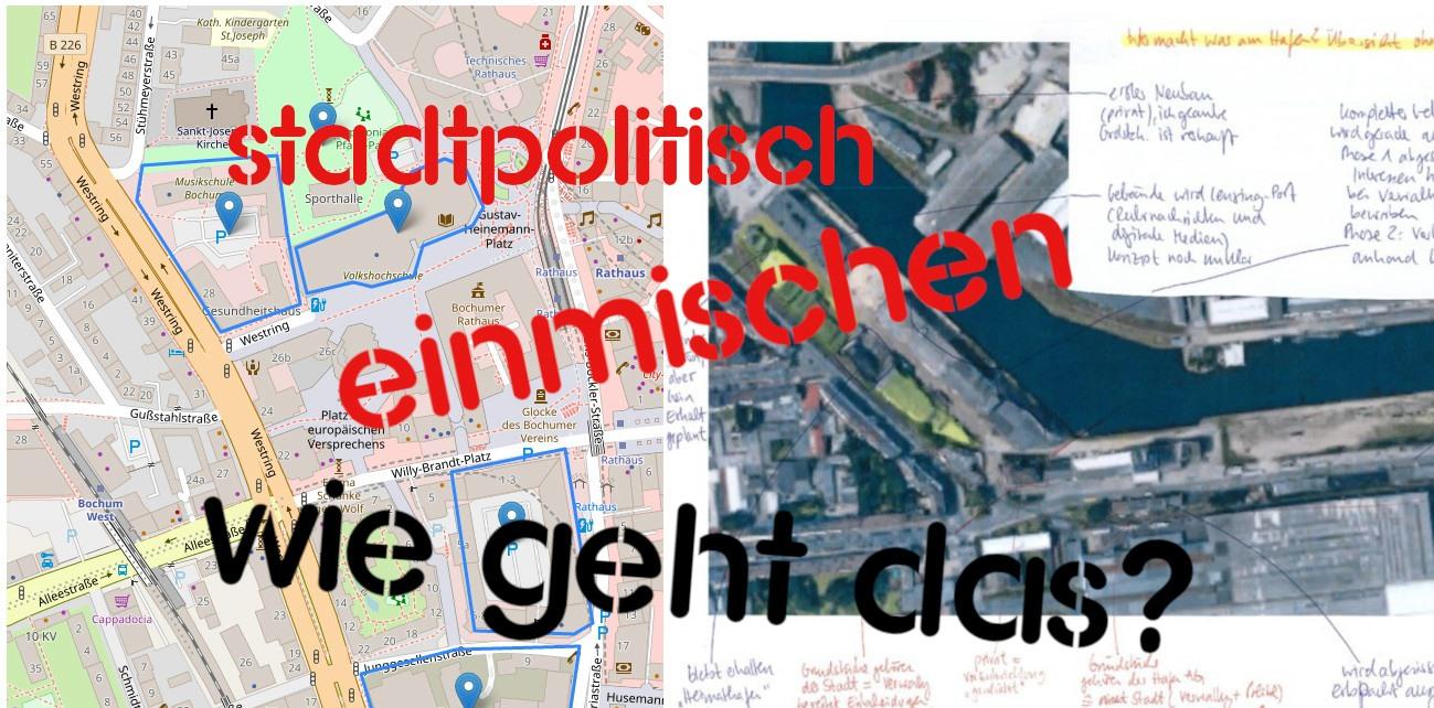 """Stadtpolitisch """"von unten"""" einmischen – wie geht das?"""