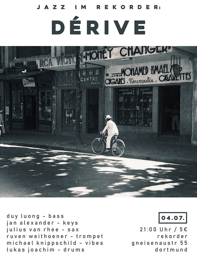 Jazz im Rekorder: Dérive