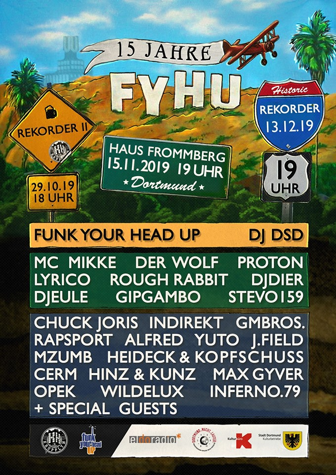 15 Jahre Funk Your Head Up