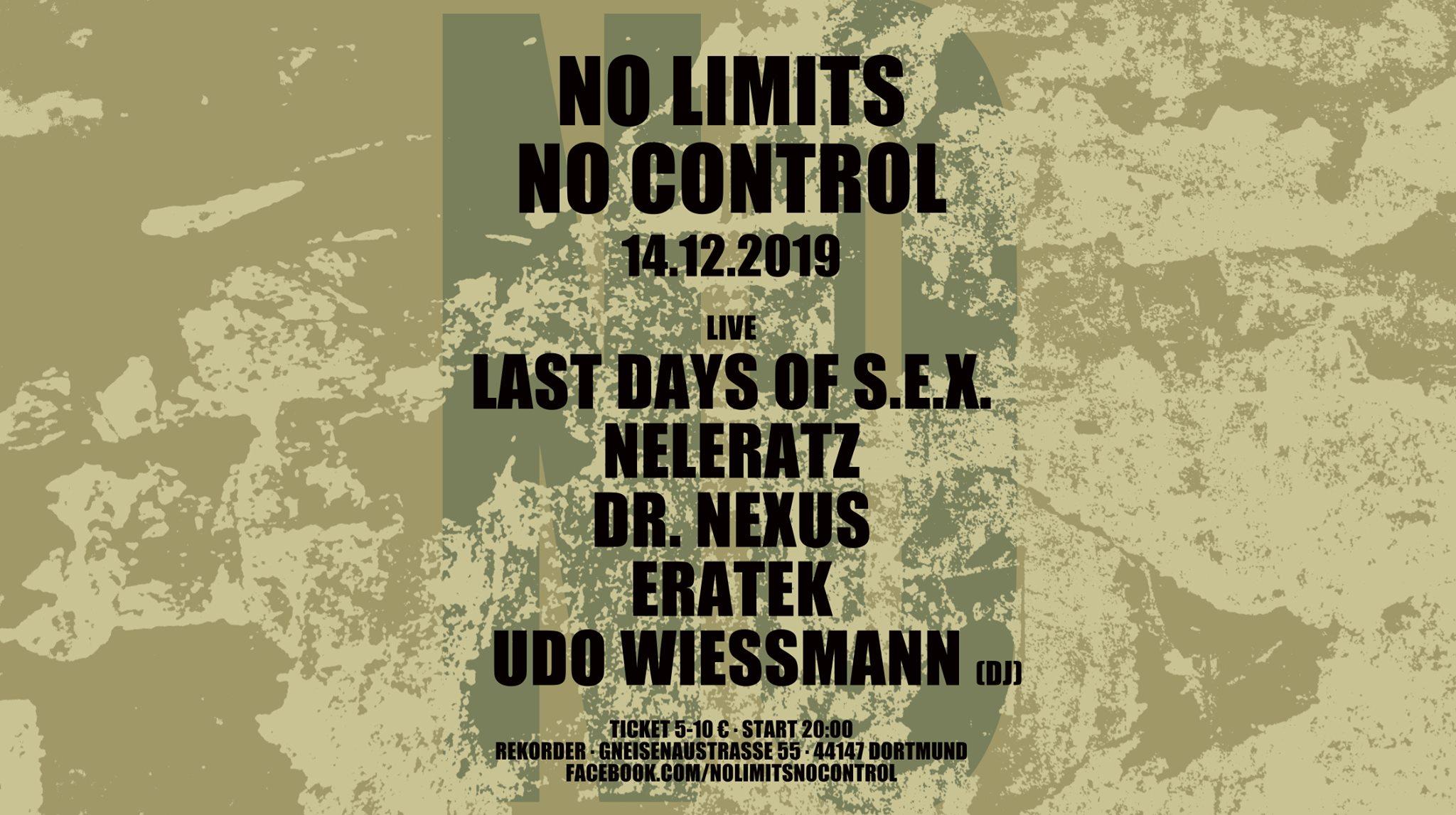 No Limits No Control