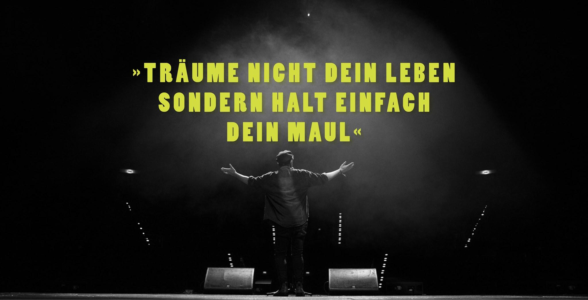 Poesie & Pessimismus - SoloSlam mit Rainer Holl