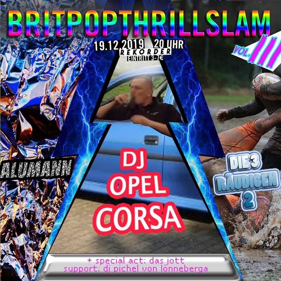 Britpopthrillslam Vol. 3