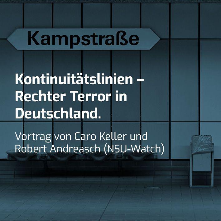 Kontinuitätslinien – Rechter Terror in Deutschland