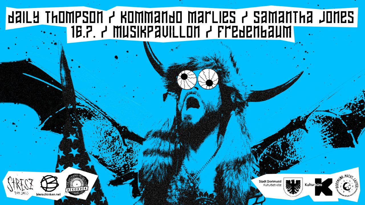 PANKDEMIC #02: Samantha Jones / Daily Thompson / Kommando Marlies