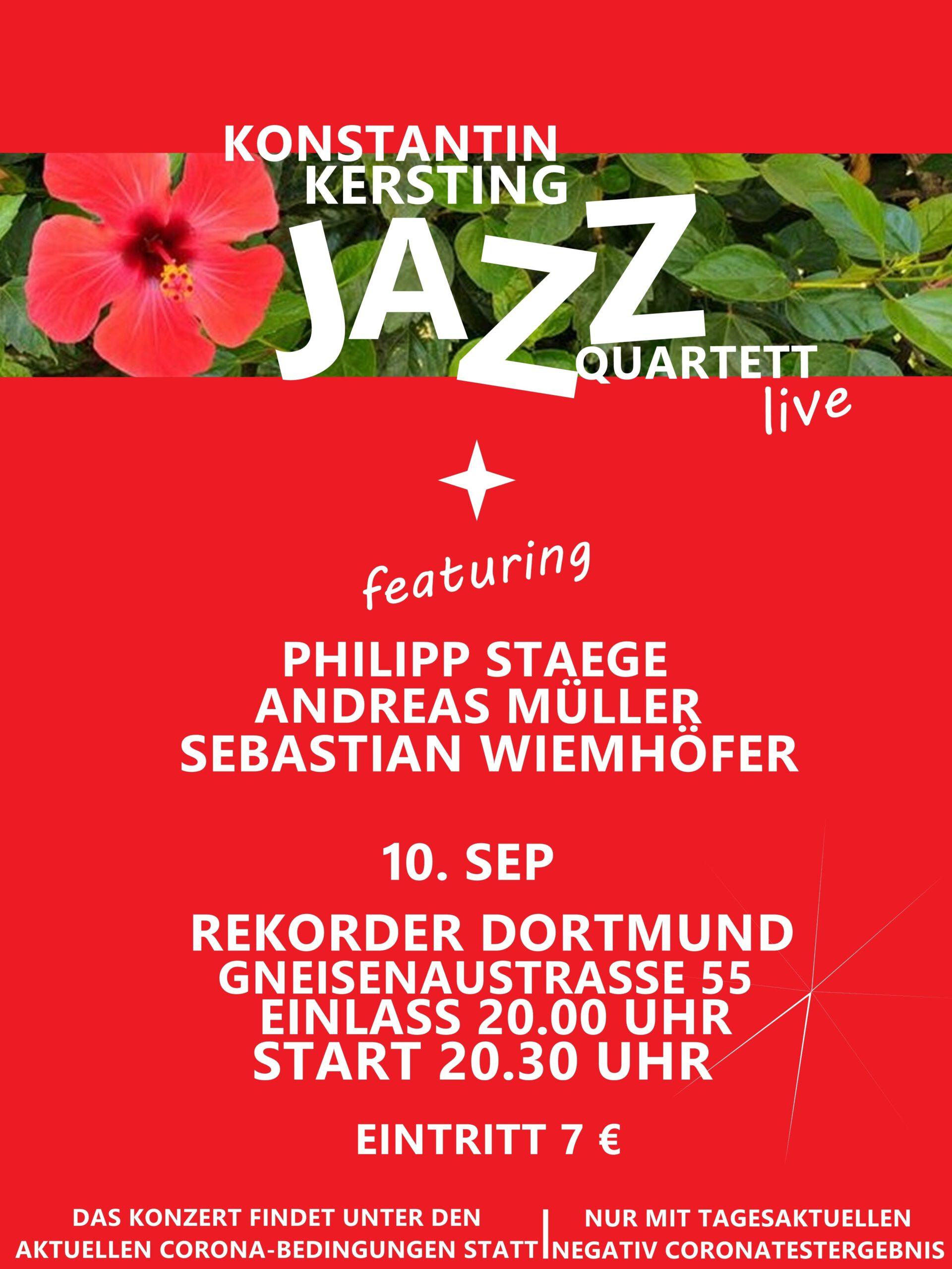 Konzert: Konstantin Kersting Jazz Quartett